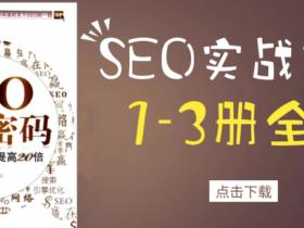 SEO实战密码——60天网站流量提高20倍(第1~3版 全)PDF电子书免费下载